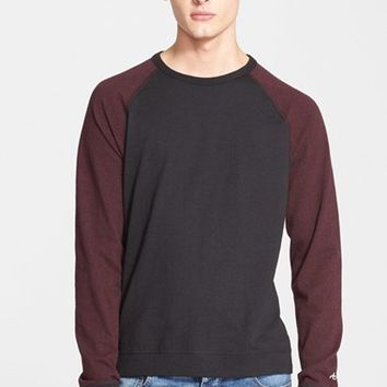 Men's rag & bone Colorblock Raglan Sleeve T-Shirt,