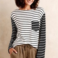 Turned Stripes Tee by Hye Park and Lune Black & White