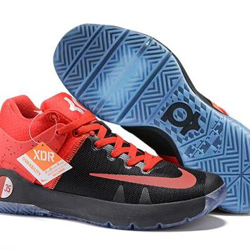 HCXX Nike Men's Durant Zoom KD 5 Basketball Shoes Blue Red Black 40-46
