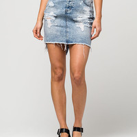 TINSELTOWN Denim Pencil Skirt | Short Skirts