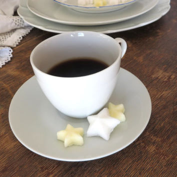 30 Big and Little, Yellow and White Star Shaped Sugar Cubes Sweet Last Minute Gift Ready to Ship
