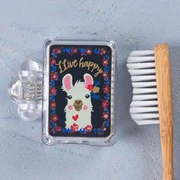 Llama Toothbrush Holder By Natural Life