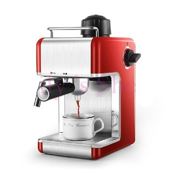 Electric Espresso coffee maker semi-automatic Italian coffee machine high pressure steam 5bar Cappuccino