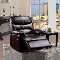 Arcadia Relaxing Recliner, Brown