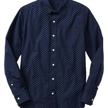 Gap Men Factory Print Shirt Slim Fit