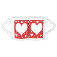 Valentines day love mug's coffee mug set