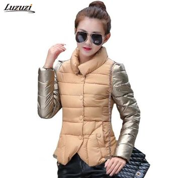 1PC Winter Jacket Women Cotton Padded Coats Parka Casacos De Inverno Feminino Abrigos Chaquetas Mujer Z234