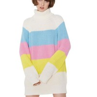 CMYK Oversized Sweater Dress