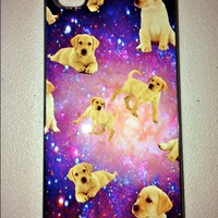 SWEET LORD O'MIGHTY! LABS IN SPACE IPHONE CASE