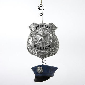 Christmas Ornament - Police Badge