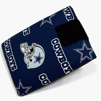 Tablet Case, iPad Cover, Dallas Cowboys, NFL, iPad Mini Case, Kindle Fire Case, Tablet Sleeve, Cozy, Handmade, FOAM Padding, Holiday Gift