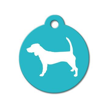 Beagle - Silhouette Pet Tag