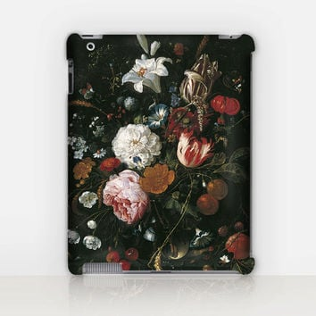 Floral iPad Case For - iPad 2, iPad 3, iPad 4 - iPad Mini - iPad Air