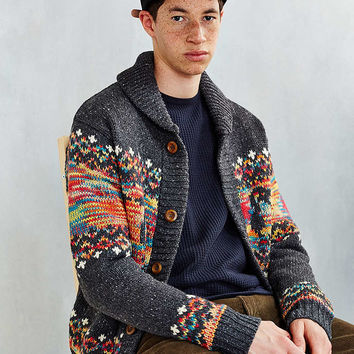 Chums Park City Knit Jacket - Urban Outfitters