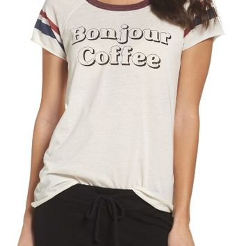 Chaser Bonjour Coffee Lounge Tee | Nordstrom