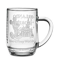Walt Disney World Castle Mickey Mouse Mug by Arribas - Personalizable