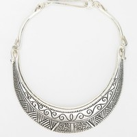 Engraved Moonplate Necklace - Urban Outfitters