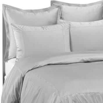 Raymond Waites®  Soft Scroll Standard Pillow Sham in Aqua