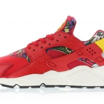 725076-601 University Red/True Yellow-Sail-Black Nike Wmns Huarache Run Print AL