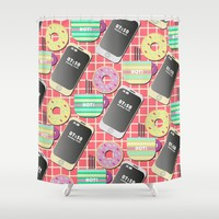 Breakfast Shower Curtain by Susana Paz | Society6