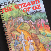 The WIZARD of Oz jounal notebook diary by PortElizabethVillage