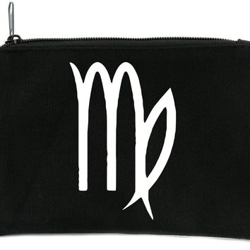 Zodiac Virgo Sign Cosmetic Makeup Bag Astrology Horoscope The Virgin