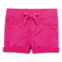 Arizona Pull-On Shorts Baby Girls - JCPenney