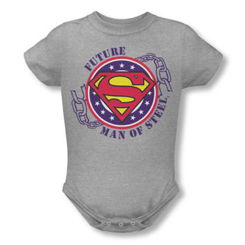 Superman Future Man Of Steel Infant Onesuit