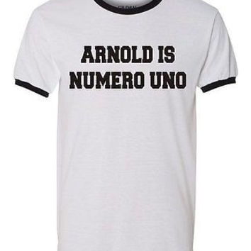 Arnold Is Numero Uno Men's T-Shirt
