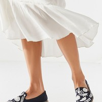 Soludos Ibiza Embroidered Floral Smoking Slipper | Urban Outfitters