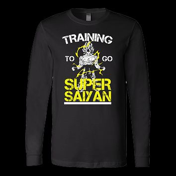 Super Saiyan - Training to go super saiyan - Unisex Long Sleeve T Shirt - TL01157LS