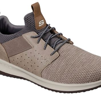 Skechers Taupe Delson-Camben Shoes