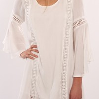 Sweet Emotion Dress White - Dresses - Shop by Product - Womens