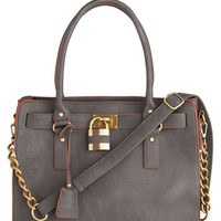 Full Course Load Bag in Charcoal - 15in | Mod Retro Vintage Bags | ModCloth.com