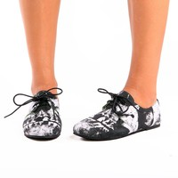 Loose Tooth Flexi Flat ♥ Black - Footwear