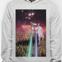 Mega Space Cat Rising Hoody by Hayley Sargent | Society6