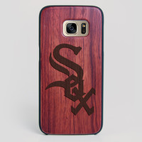 Chicago White Sox Galaxy S7 Edge Case - All Wood Everything