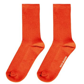 Essential Star Quality Socks | Neon Orange