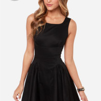 LULUS Exclusive Stun Double Black Dress