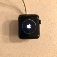 VONW3Q APPLE ?Watch Series 2 Nike+ 38mm Space Gray mint condition + 1 extra apple bands