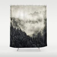In My Other World - Old School Retro Edit Shower Curtain by Tordis Kayma | Society6