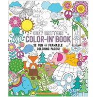 OOLY Color-in' Cozy Critters Book