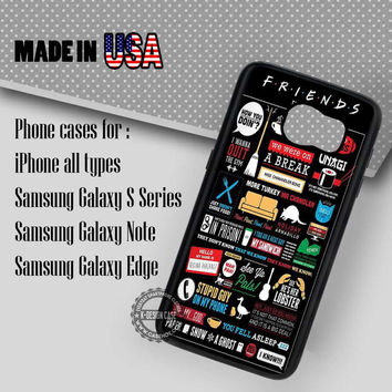 Friends TV Show  - Samsung Galaxy S7 S6 S5 Note 5 Cases & Covers