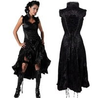 Estrilda Velvet Dress
