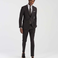 The Mayfair White Label Suit in Charcoal Solid