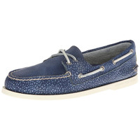 Sperry Mens Authentic Original Leather Distressed Boat Shoes