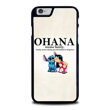 LILO AND STITCH OHANA FAMILY Disney iPhone 6 / 6S Case Cover