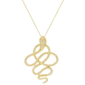 Twisted Snake Necklace