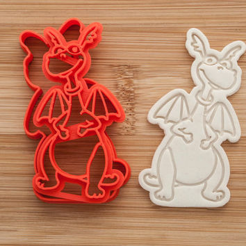 Stuffy. Blue dragon. Doc McStuffins Cookie cutters