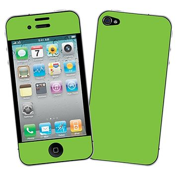 Lime Skin for the iPhone 4/4S by skinzy.com